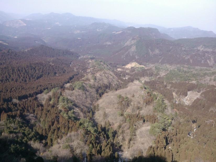 Magnifique vue sur Hikosan