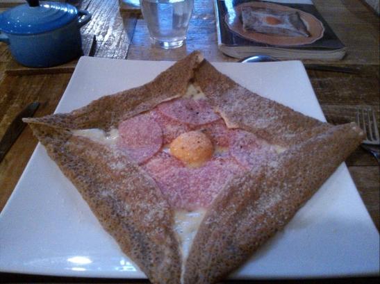 Jambon, fromage, œuf, gruyère : j'étais refait ! 😁