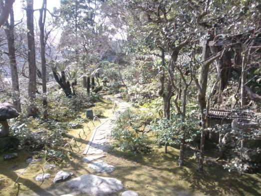 Le jardin de la villa Garyû Sansô. Magnifique.