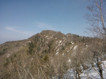 C'était le sommet que je convoitais.